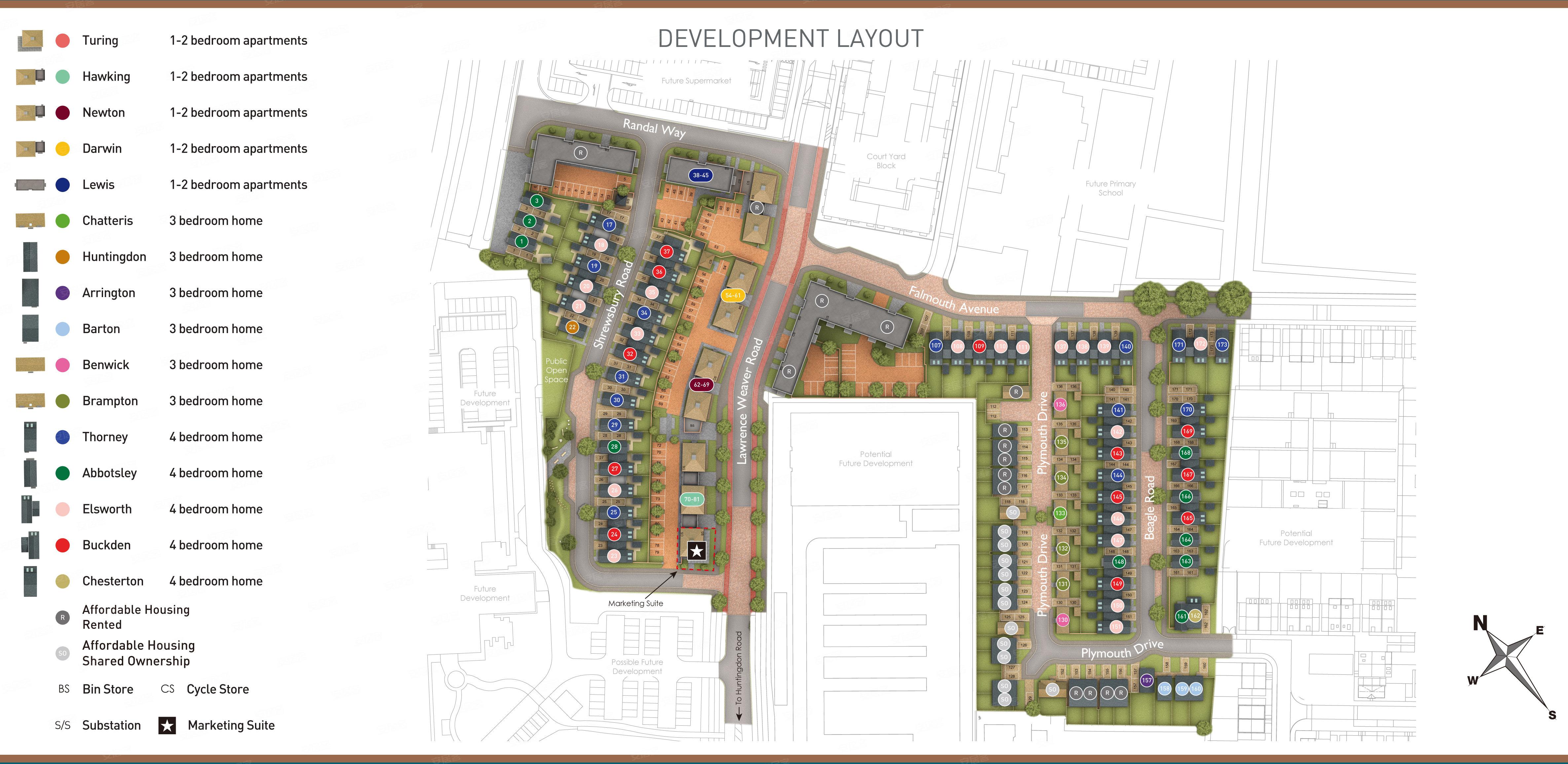 小区规划图