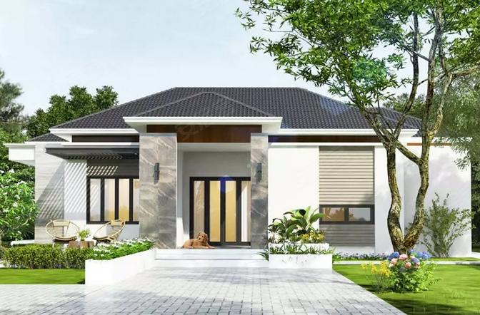 洋房盖这样的别墅,未来有钱都买不来的奢侈品!(30套乡村房子网远大图片