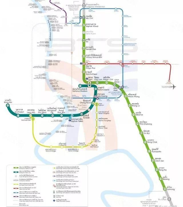 1999年,曼谷bts(天铁轨道交通)建成